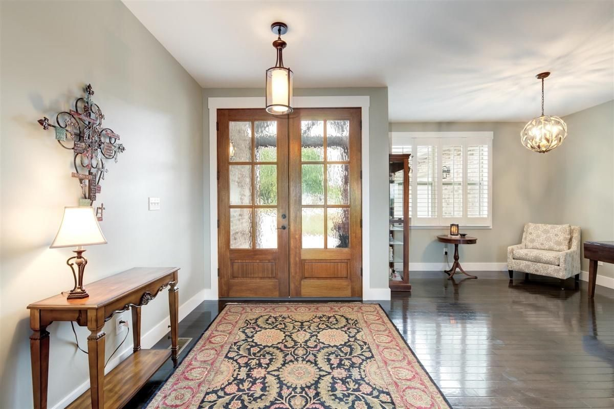 Beautiful Double Door Entryway