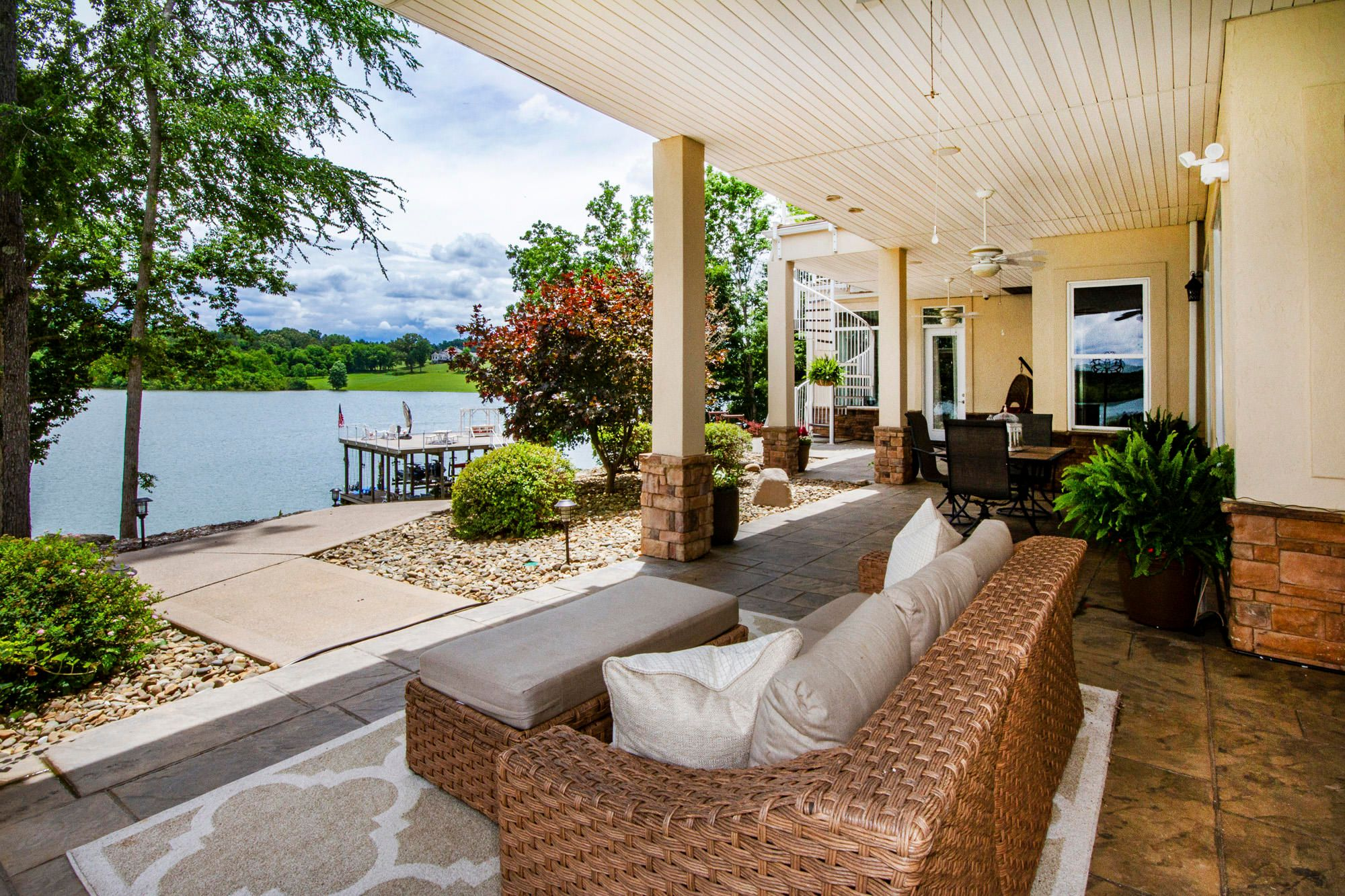 Enjoy the Covered Patio