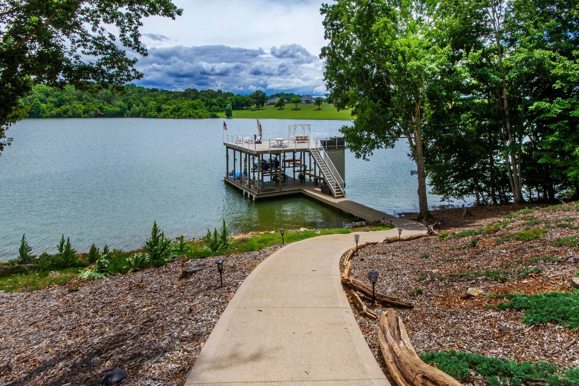 Golf Cart Friendly Path to the Dock