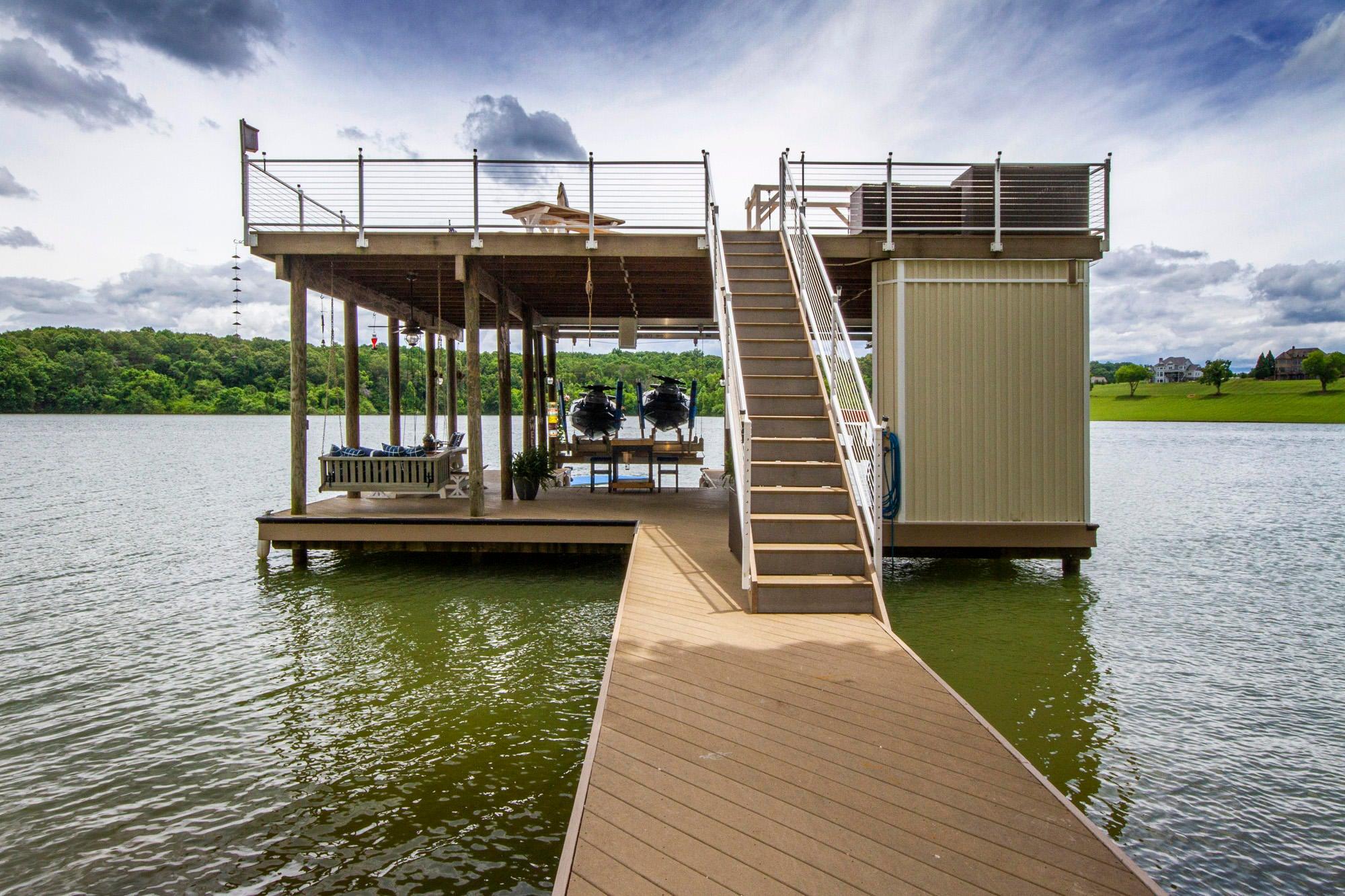 Wonderful Double Decker Dock