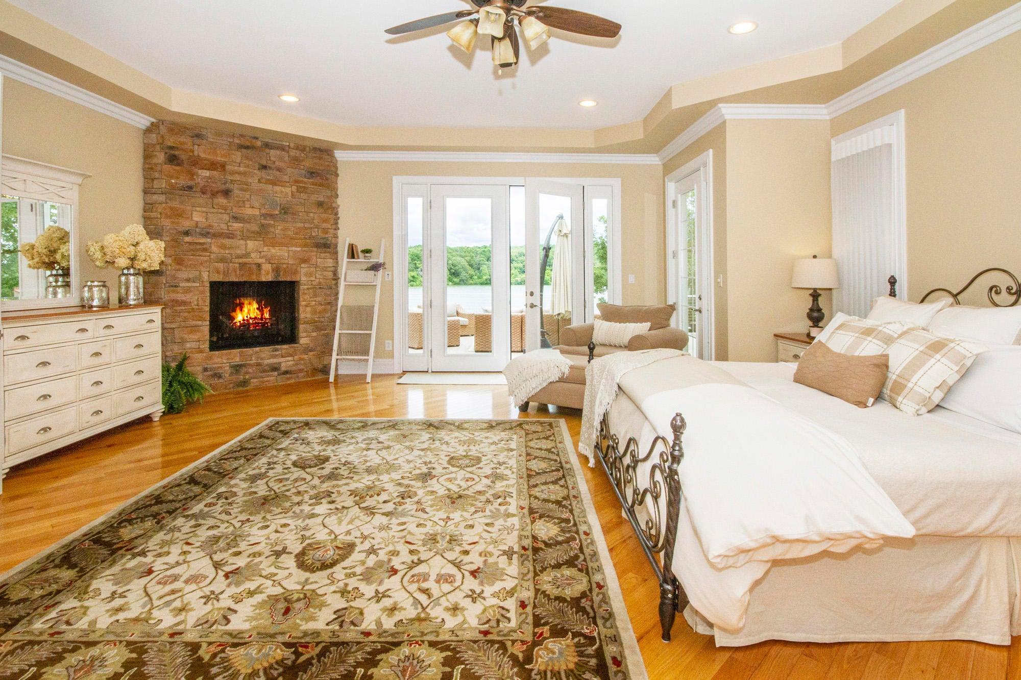 Luxurious Main Level Master Suite