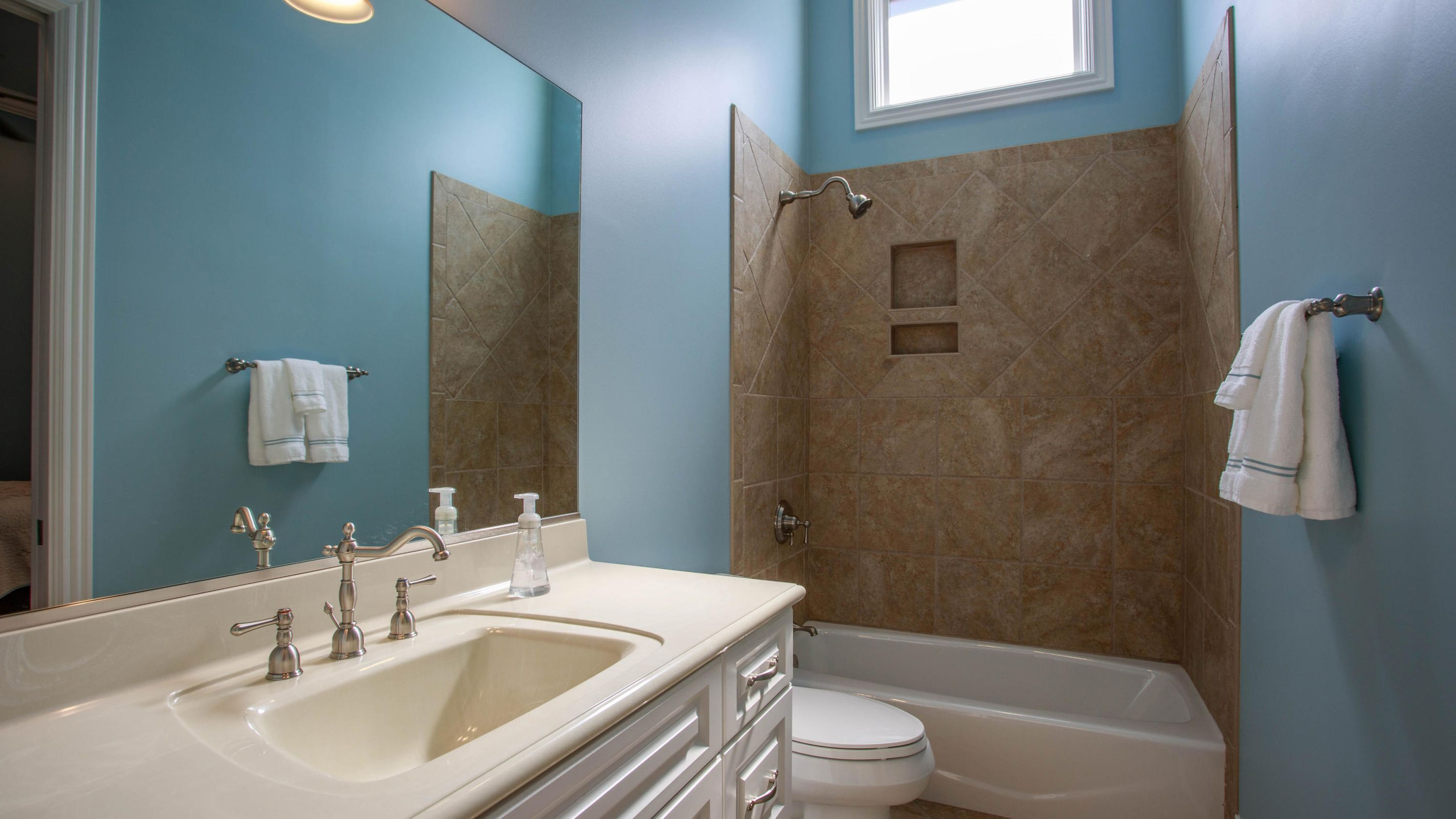 Attached bath and walk-in closet - BR 3