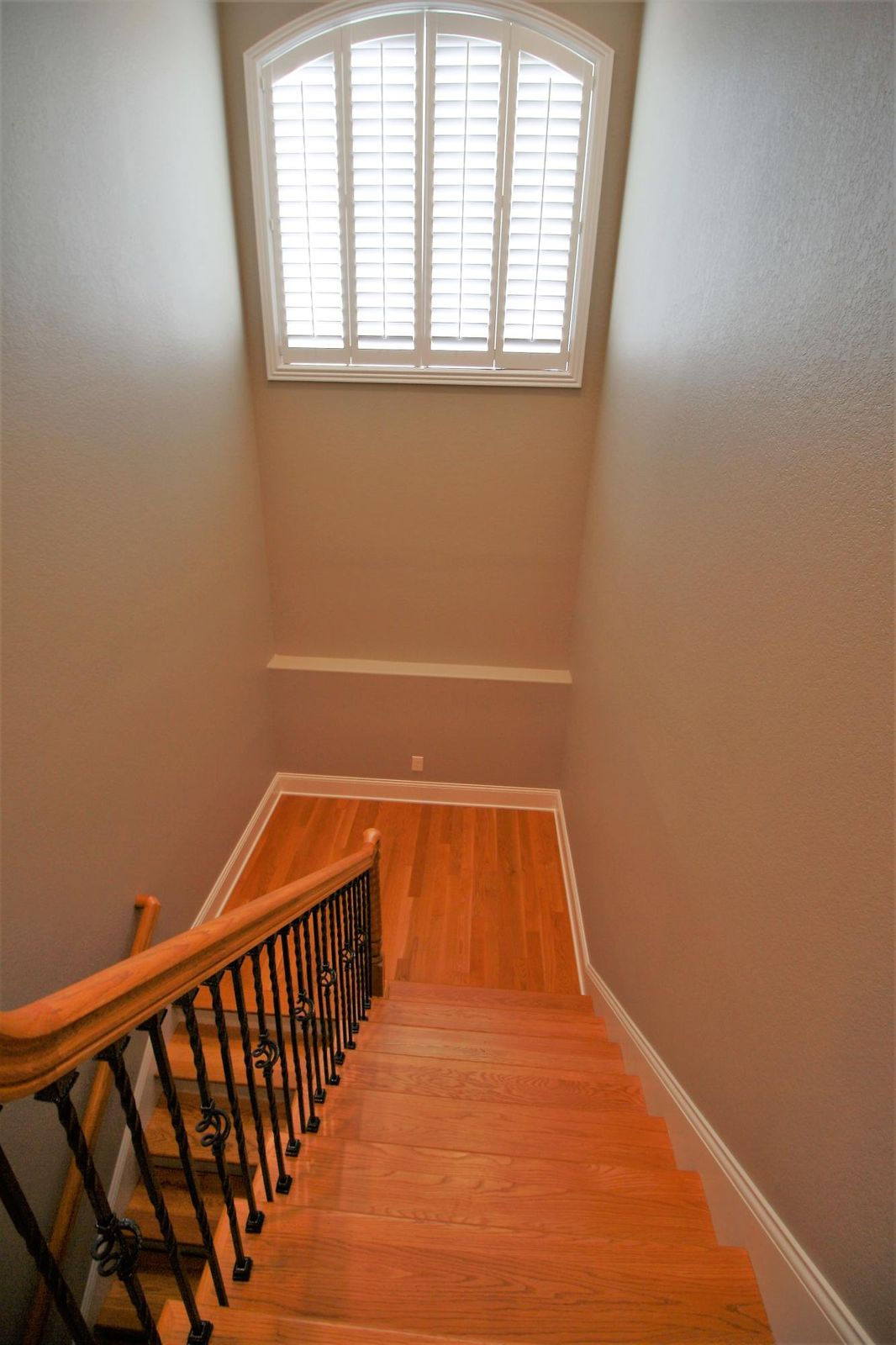 Steps leading to downstairs