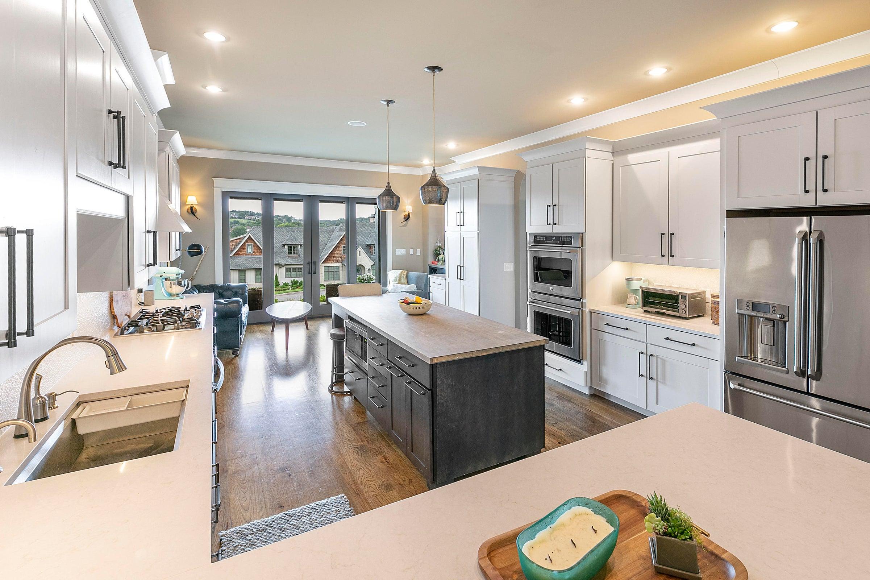 kitchen area view