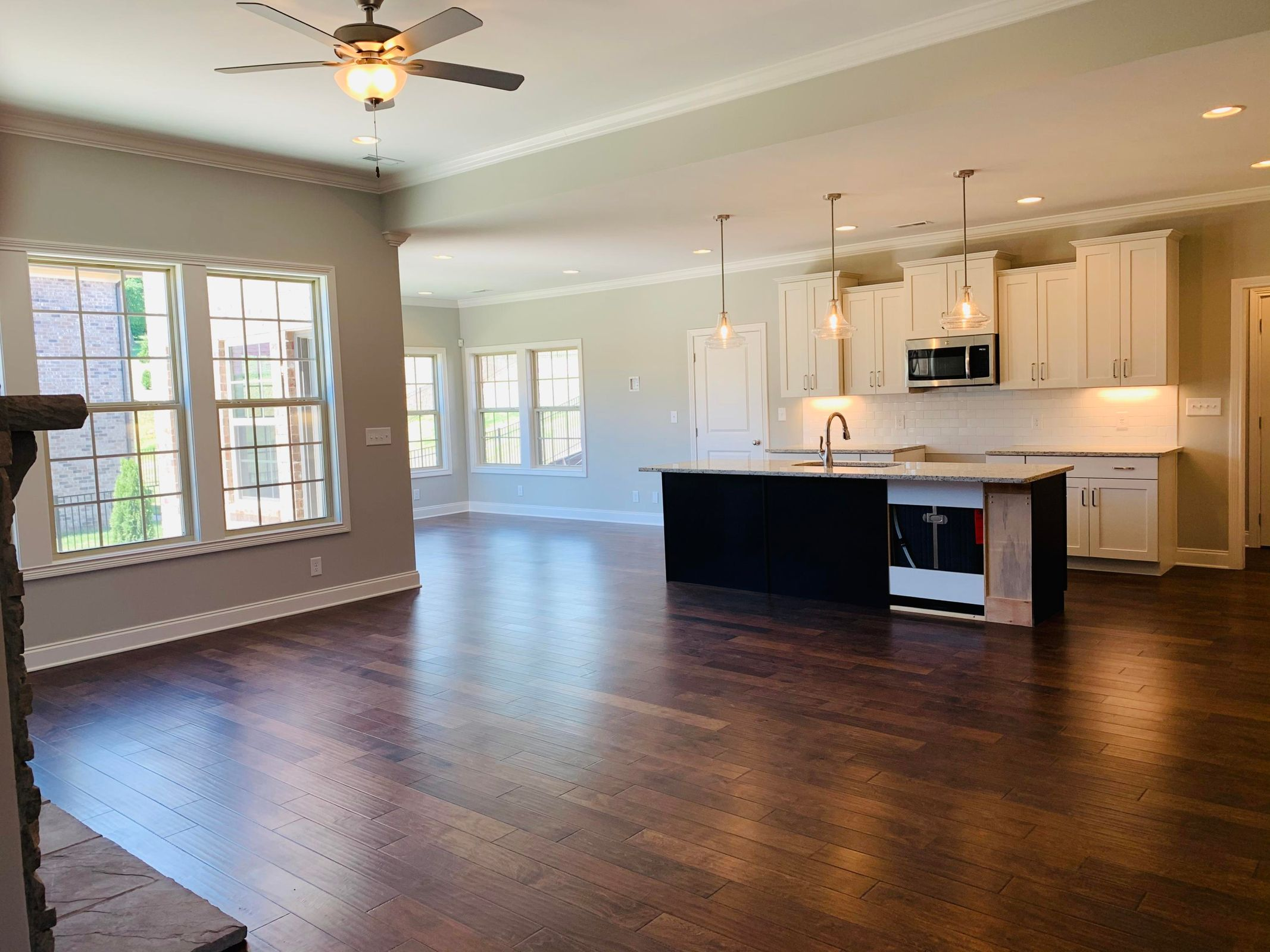 Great Room Looking Into Kitchen