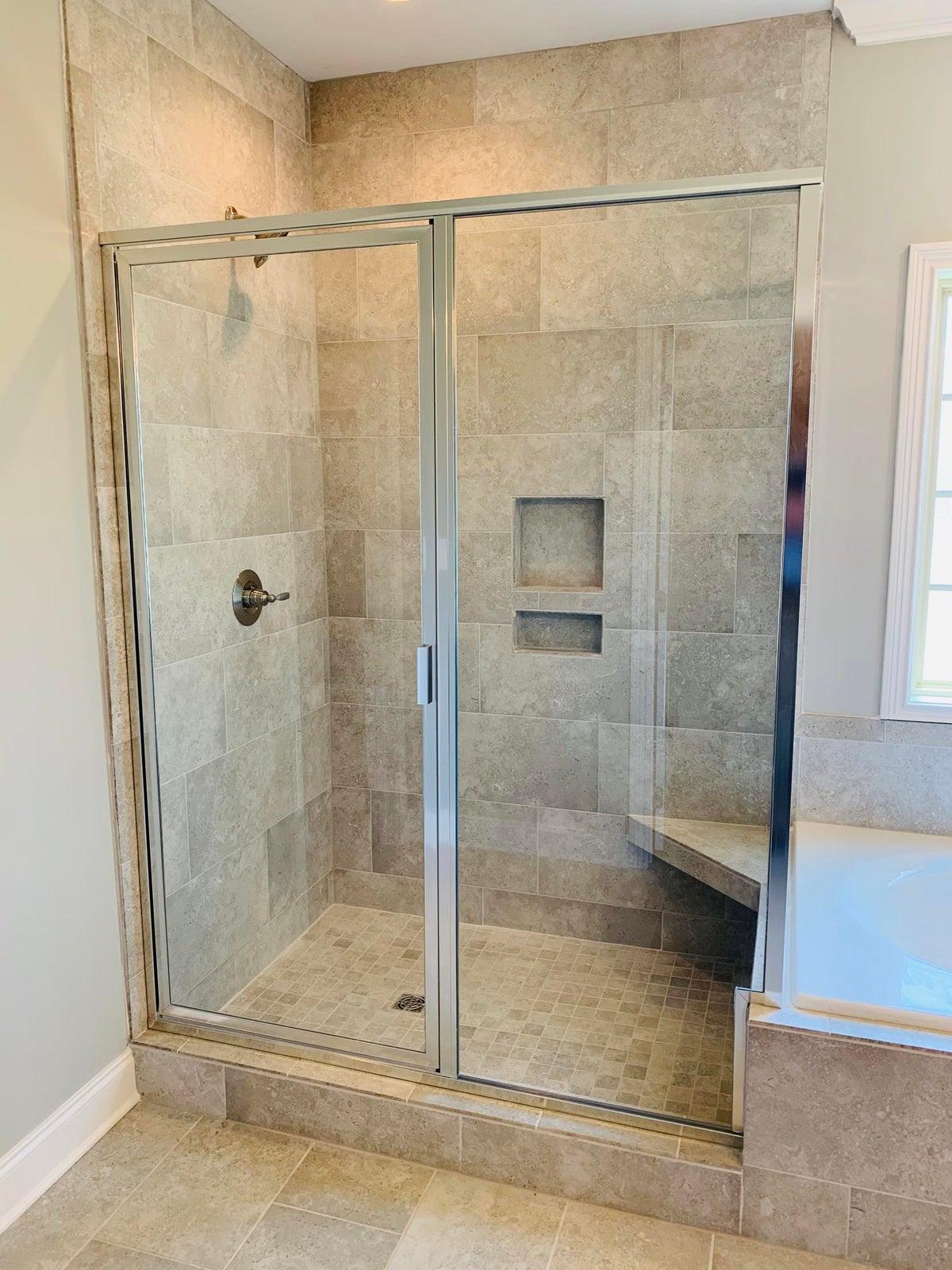 MBR Tile Shower