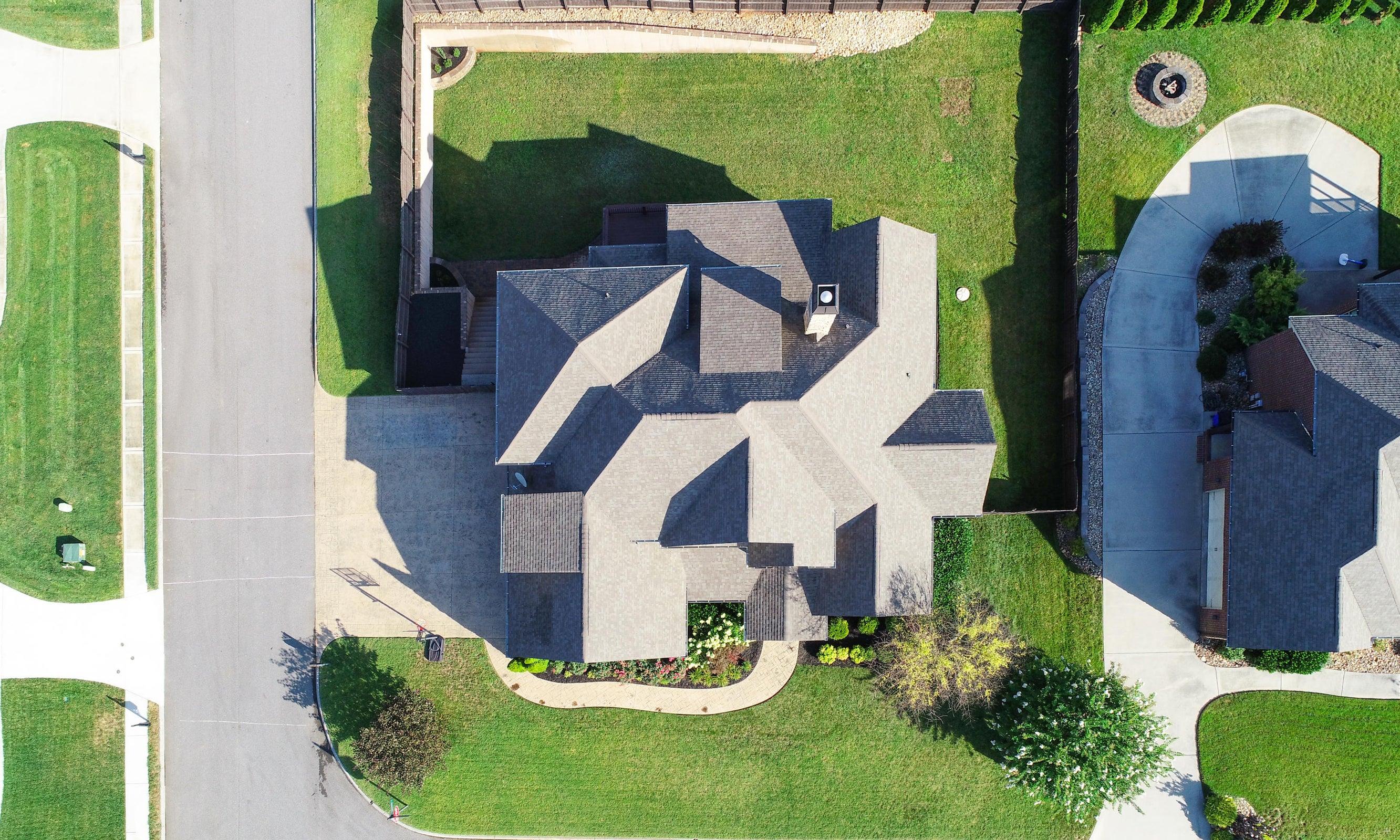 Aerial 3-roof
