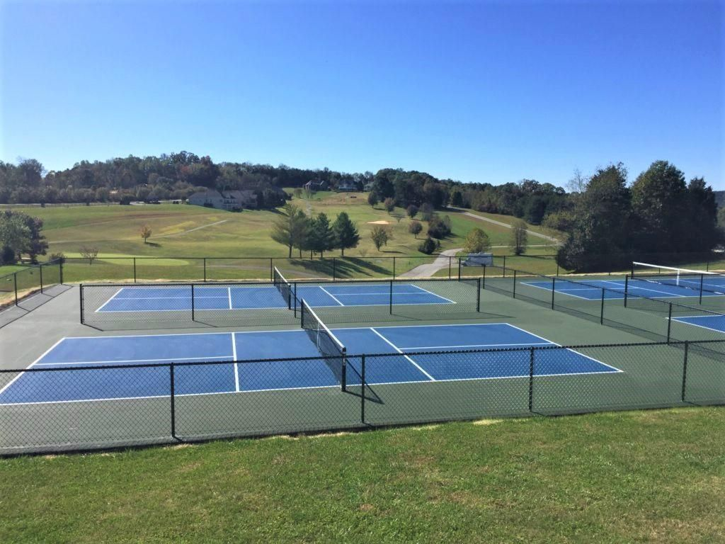 Pickelball courts