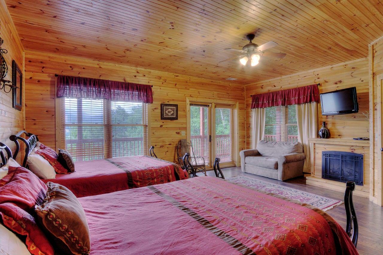 Smoky View Bedroom Suite
