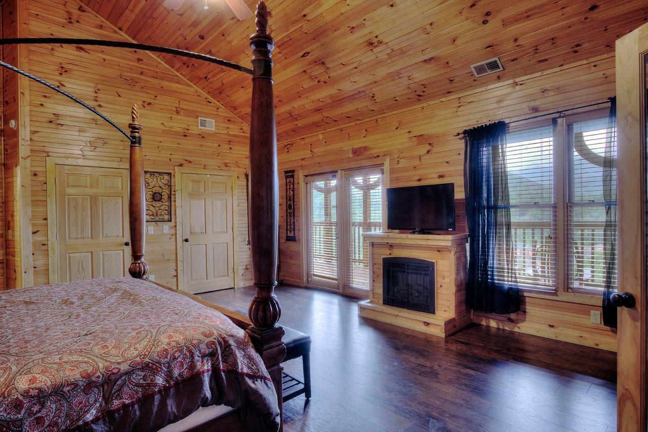 Smoky View Master Bedroom Suite