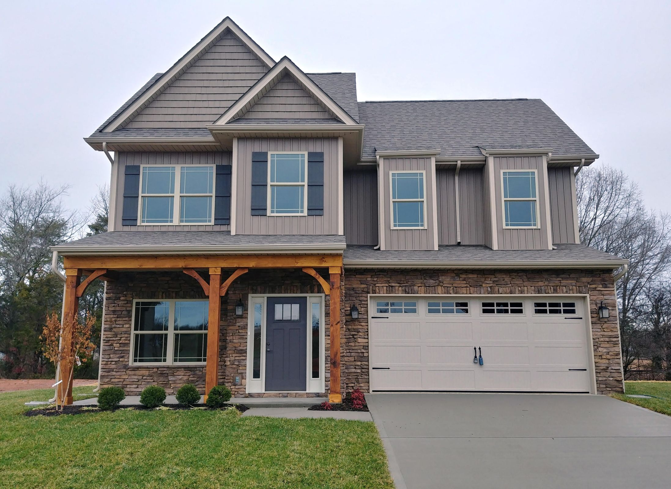 Example of Finished Home