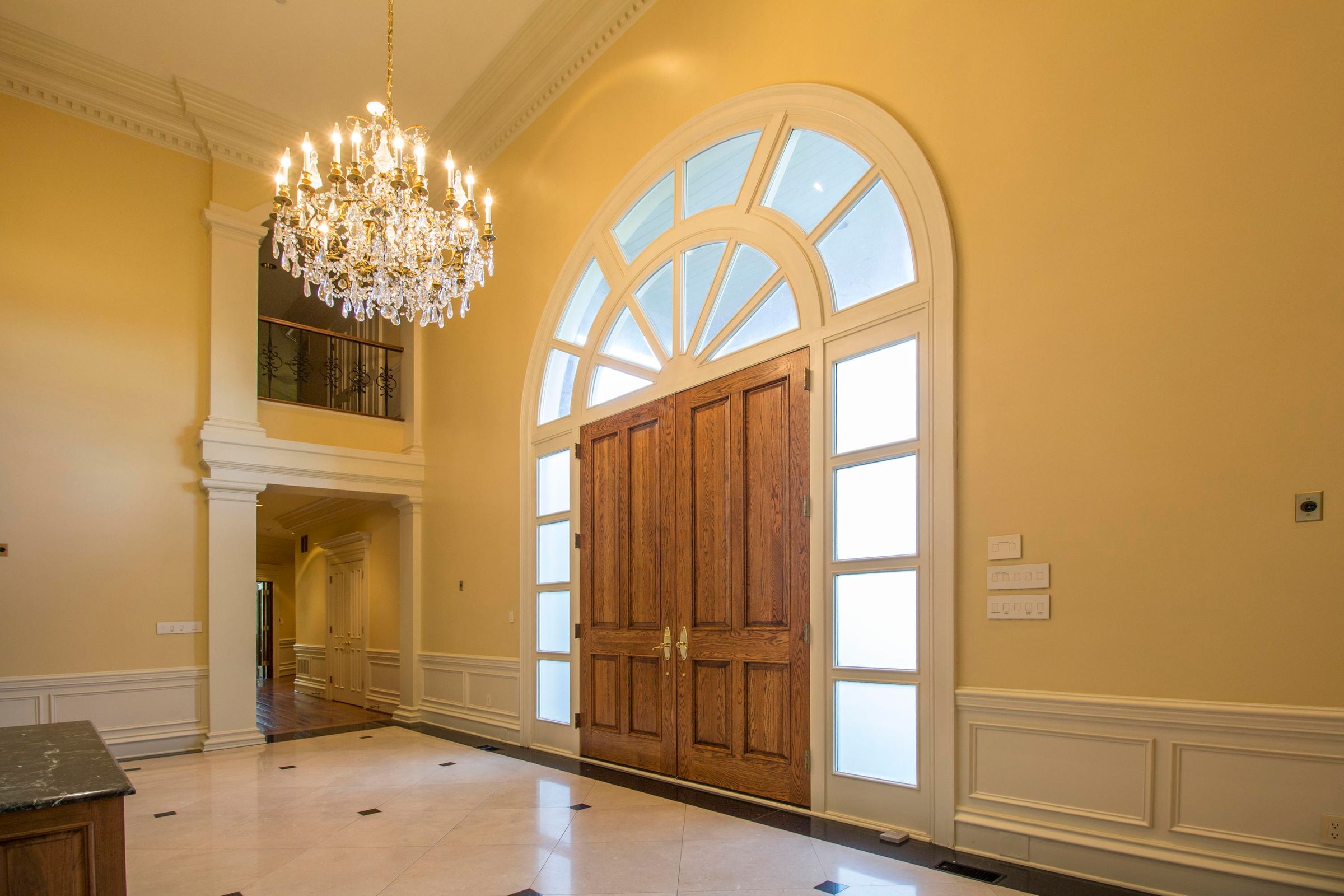 Soaring Entry Foyer