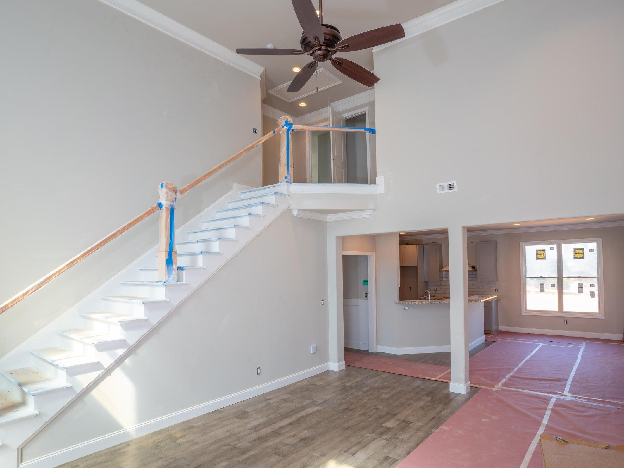 Great room looking upstairs