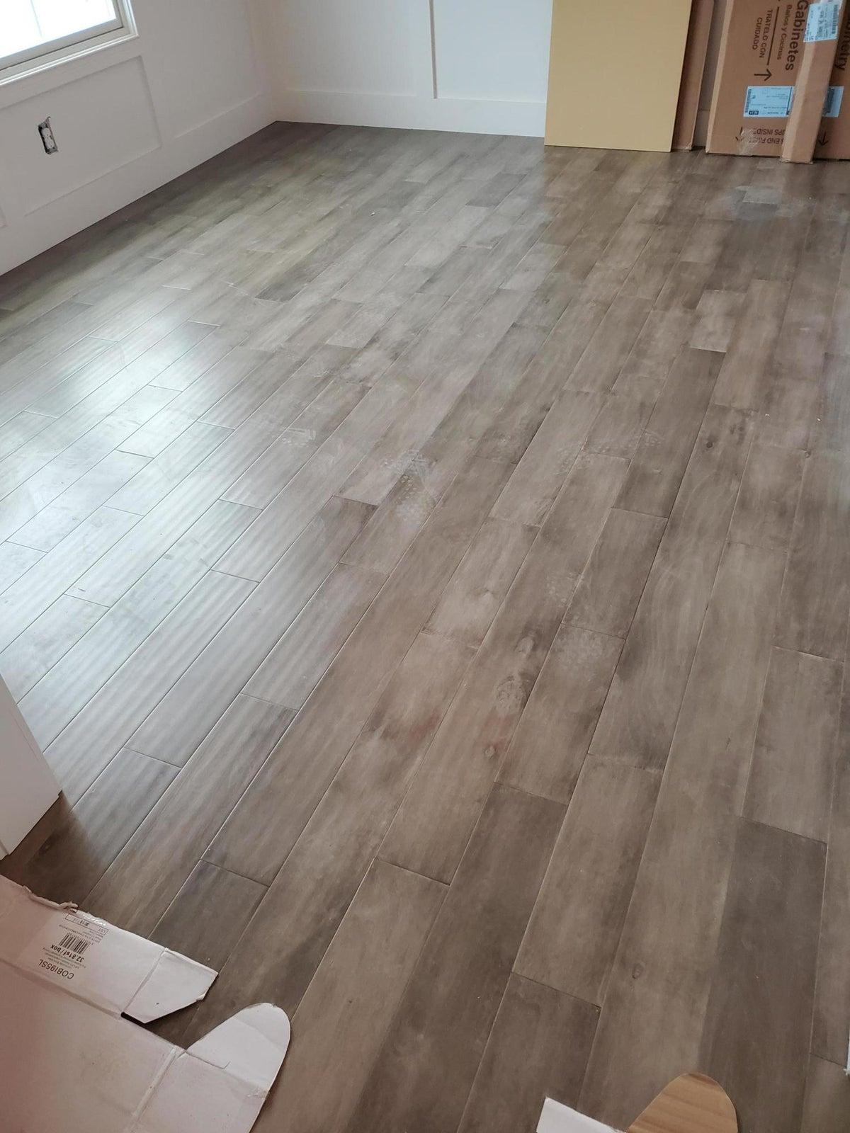 Grey Brown Hardwood Floors