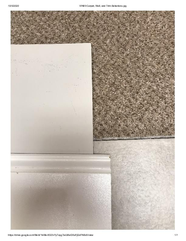 VIN Lot 93 Carpet, Wall, and Trim Select