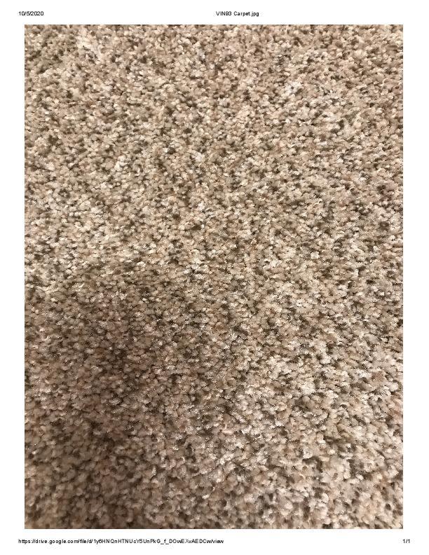 VIN Lot 93 Carpet