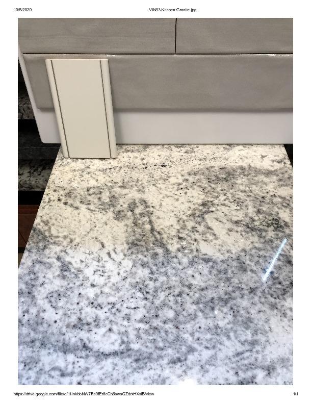 VIN Lot 93 Kitchen Granite
