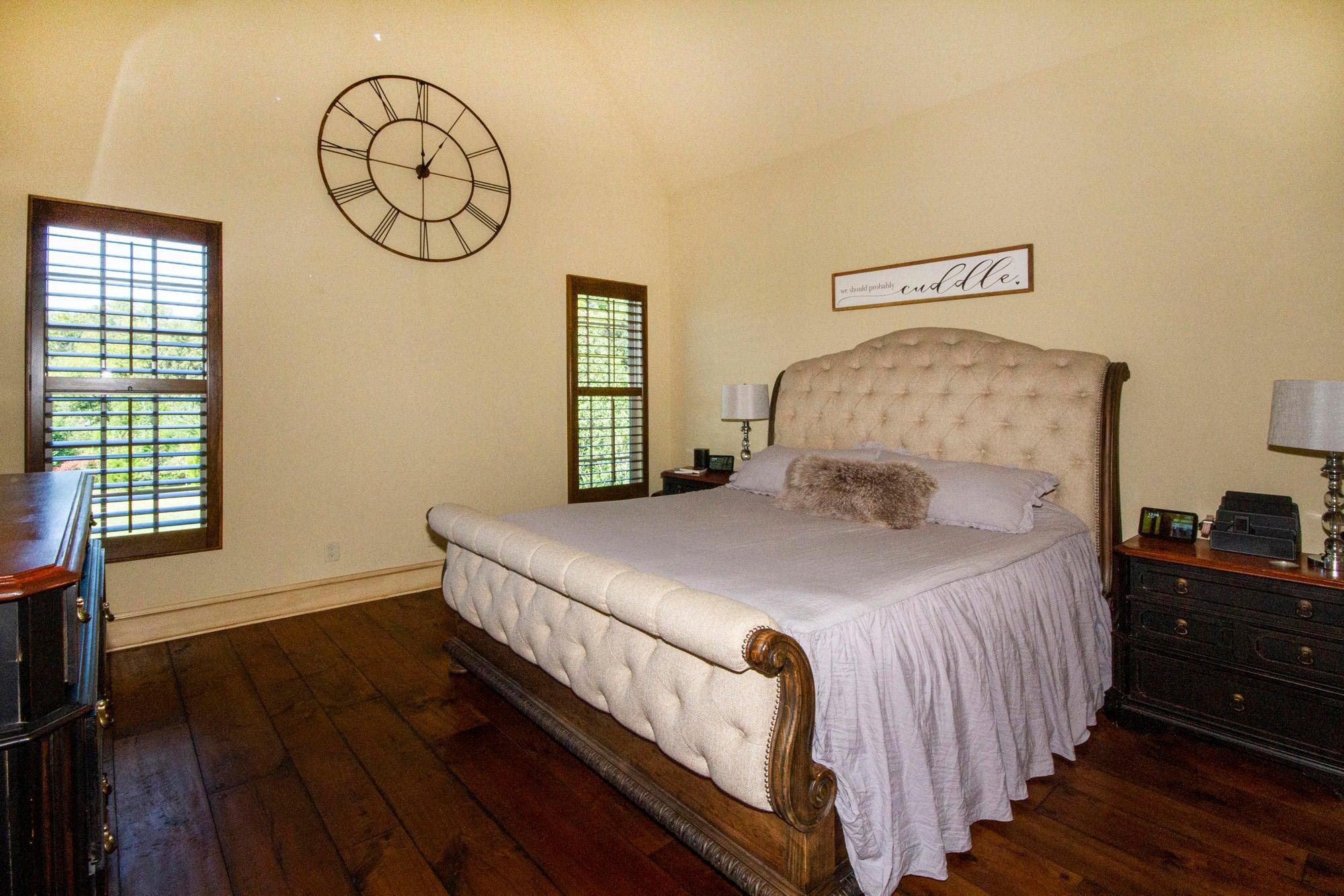 Master Bedroom on main