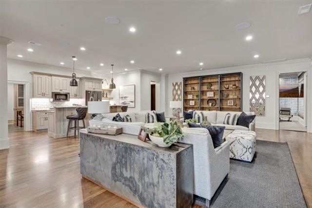 Rec/Family Room on Lower Level