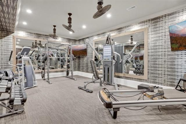 Exercise Room on Lower Level