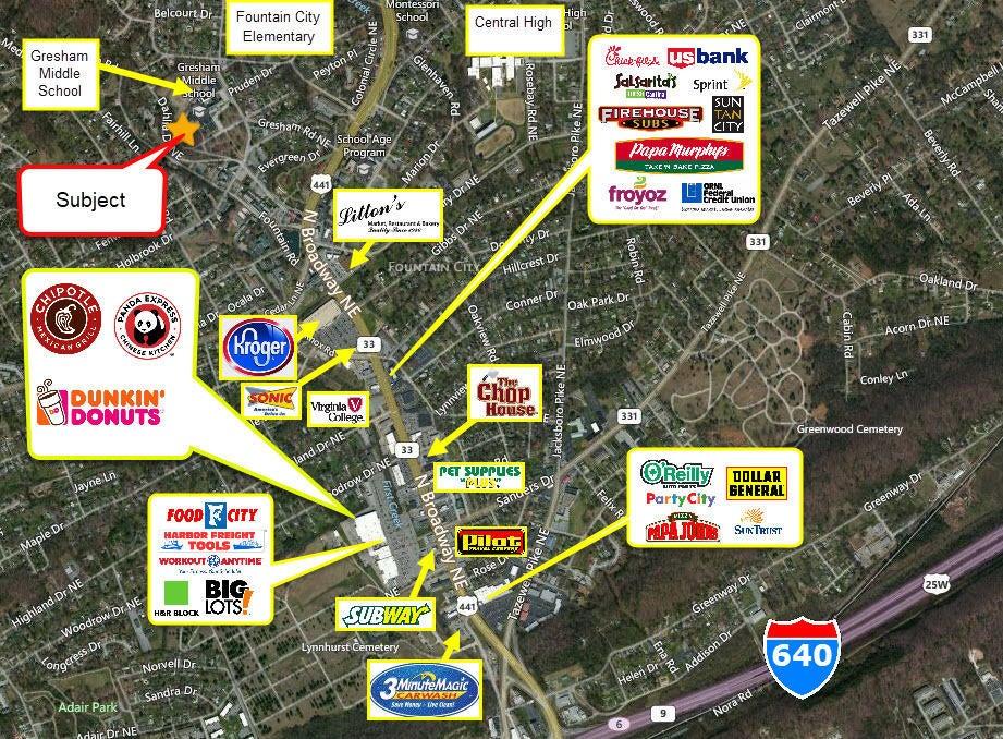 Business Map Evergreen 2020