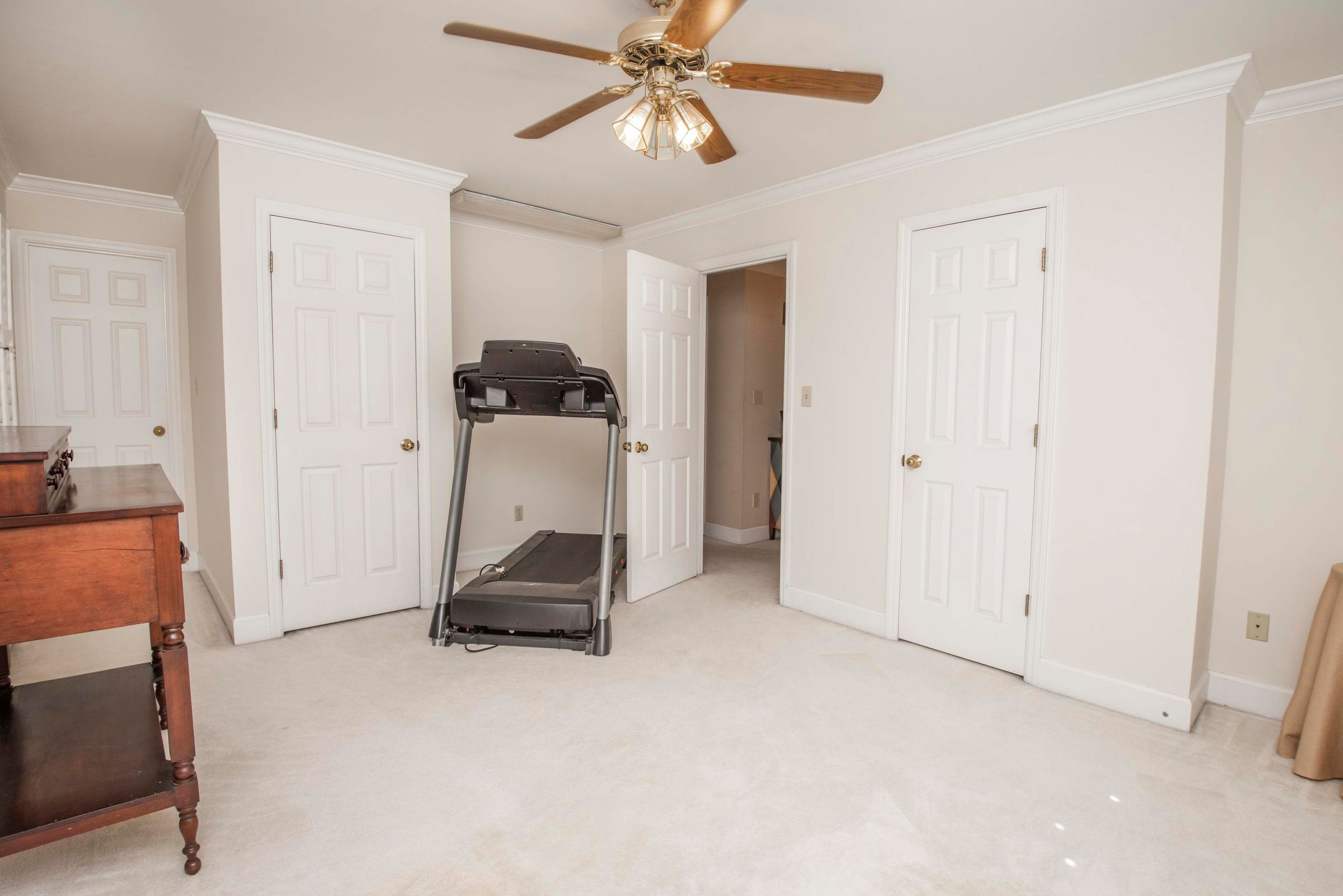Bedroom or Workout area