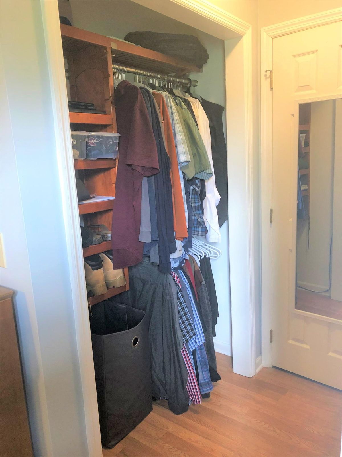 Master closet side 2