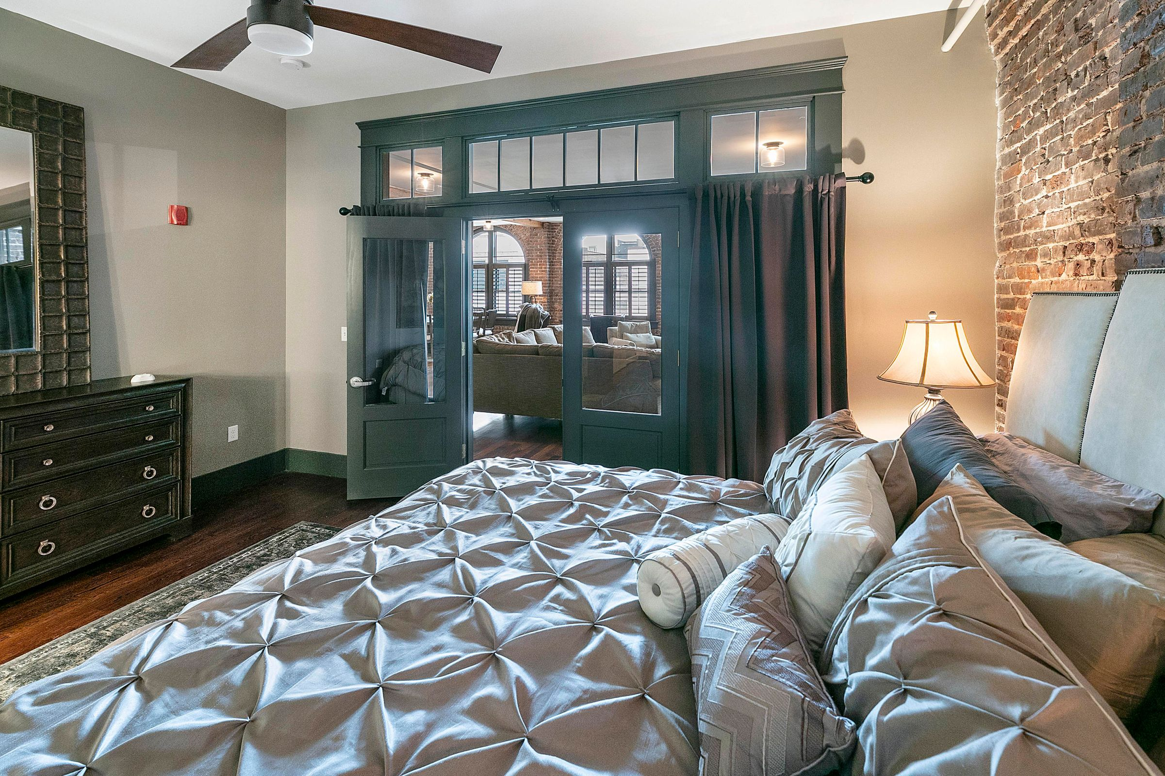 Master Bedroom to front windows