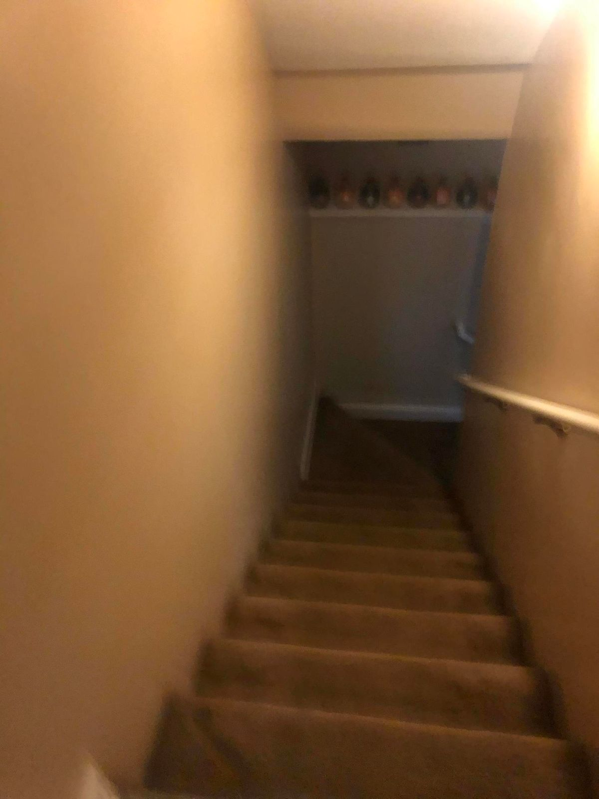 Stairs for downstairs