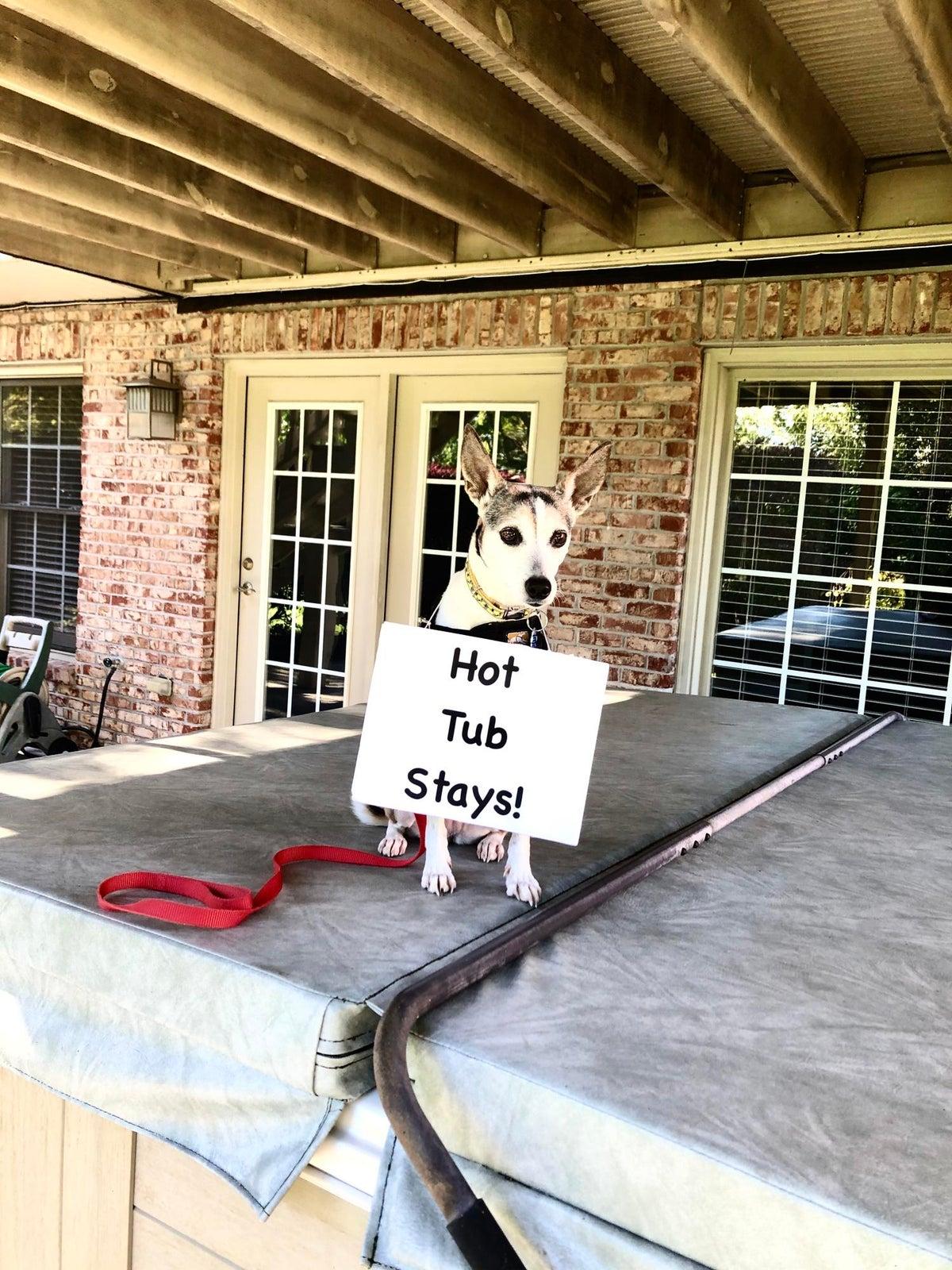 Hot tub stays