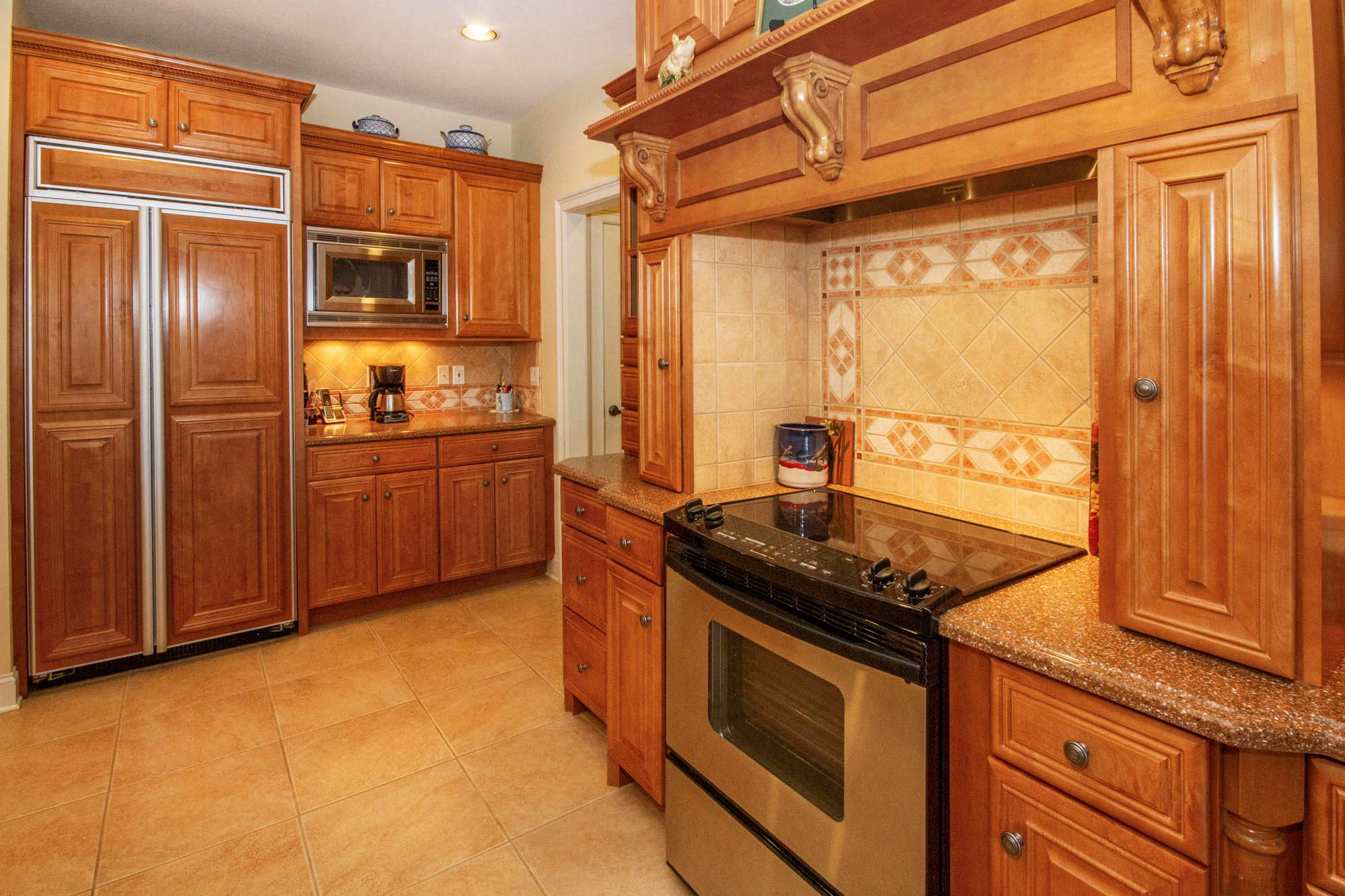 Cabinet Fronted Fridge & Coffee Nook!