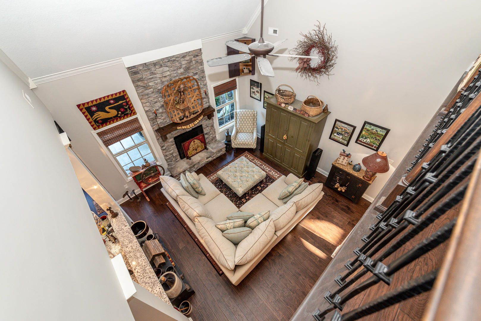 Overlook to family room