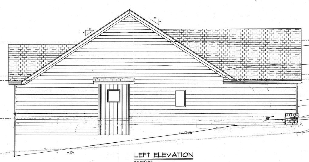 Left Elevation