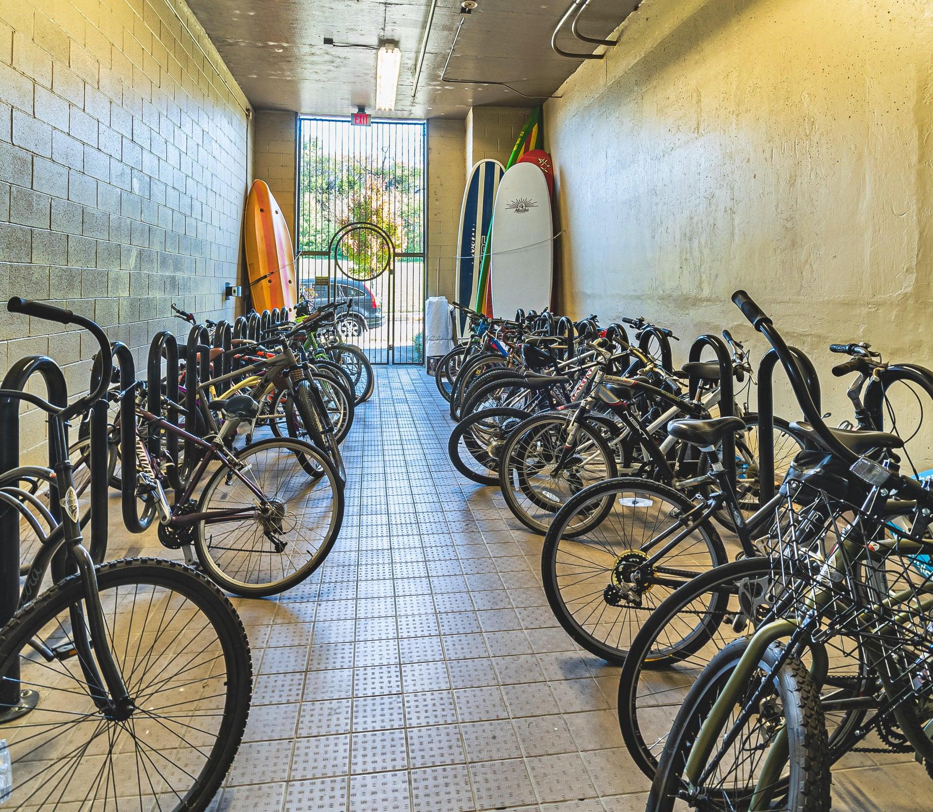 Common Bike area