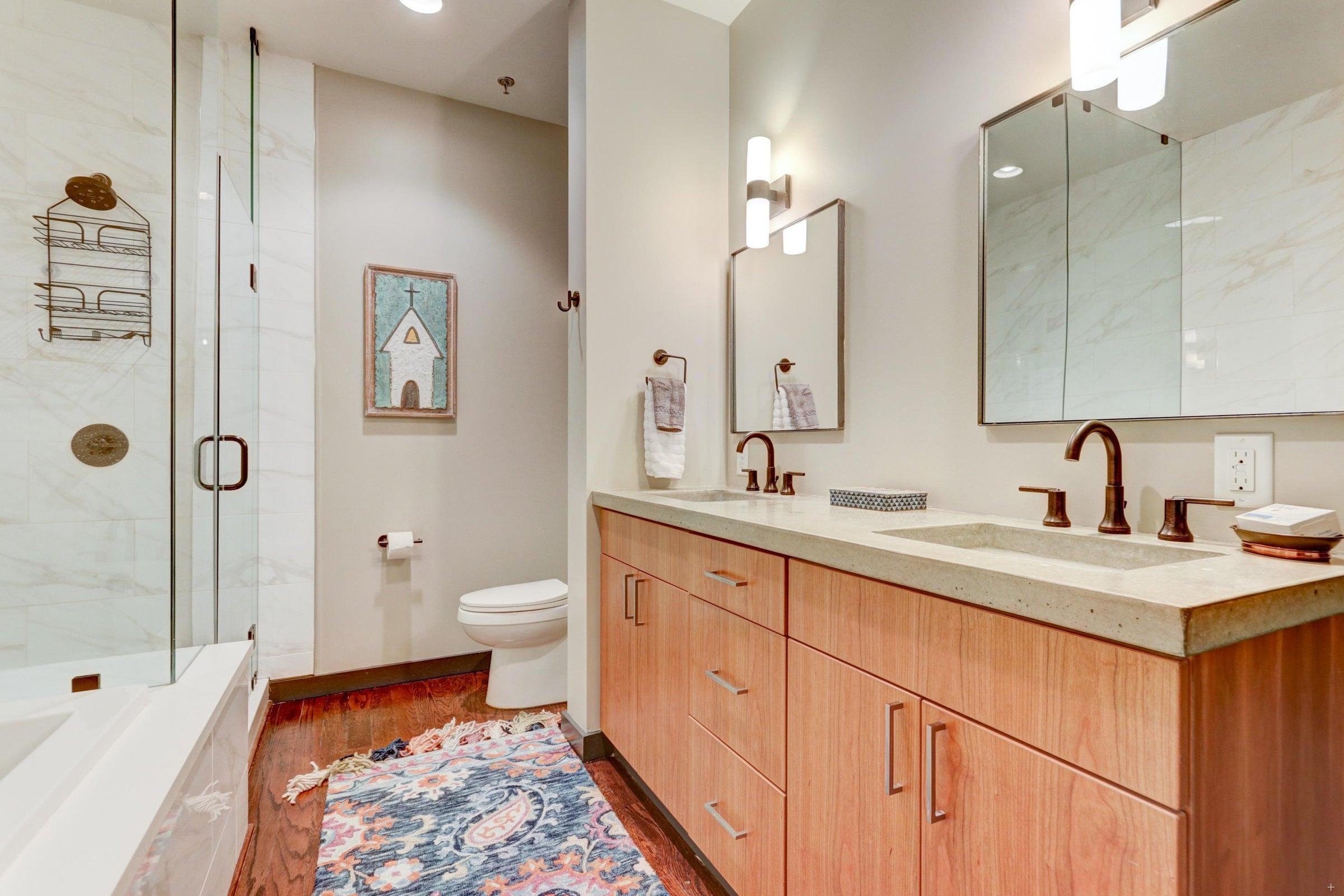 S Gay St Master Bathroom