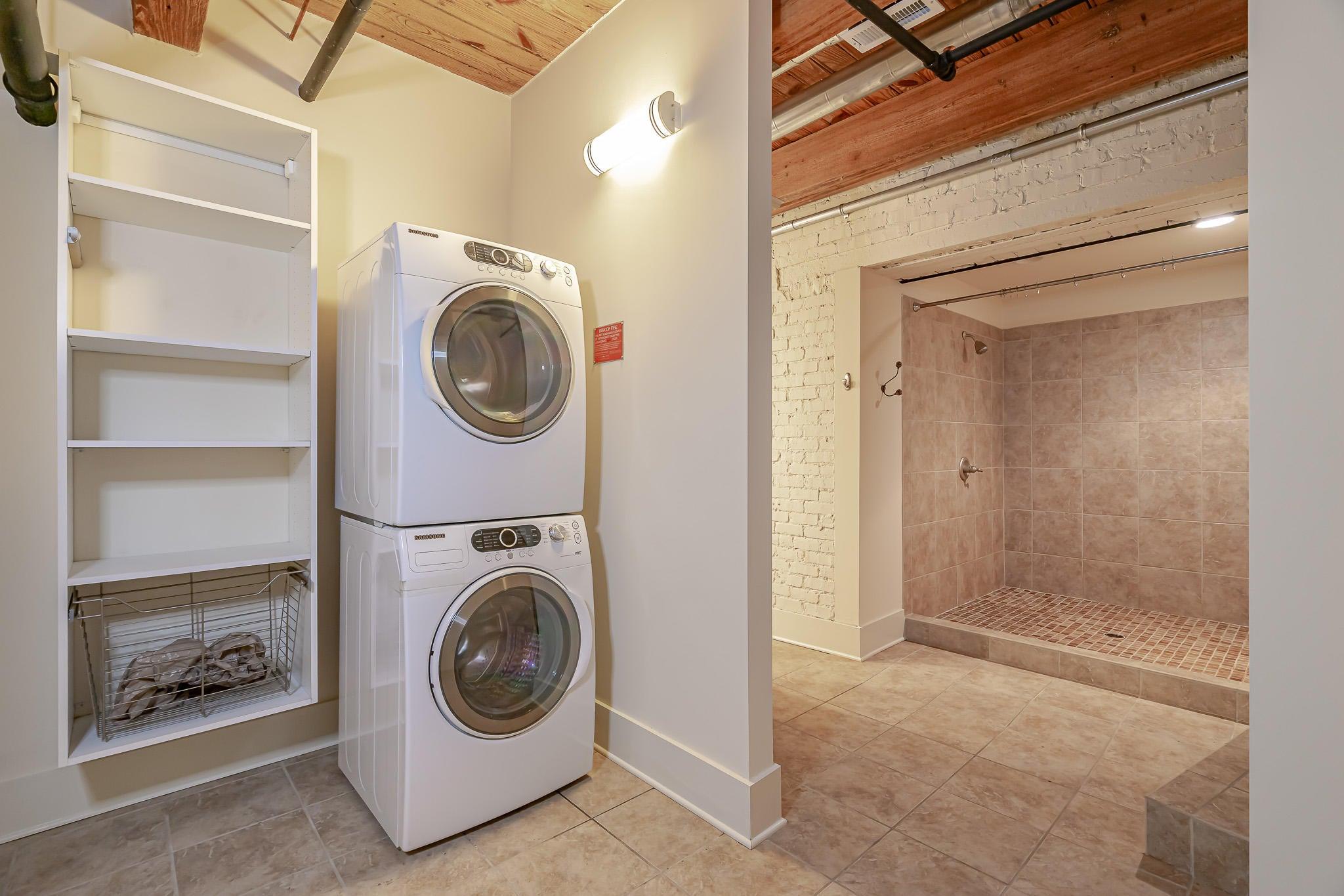 Laundry in Closet