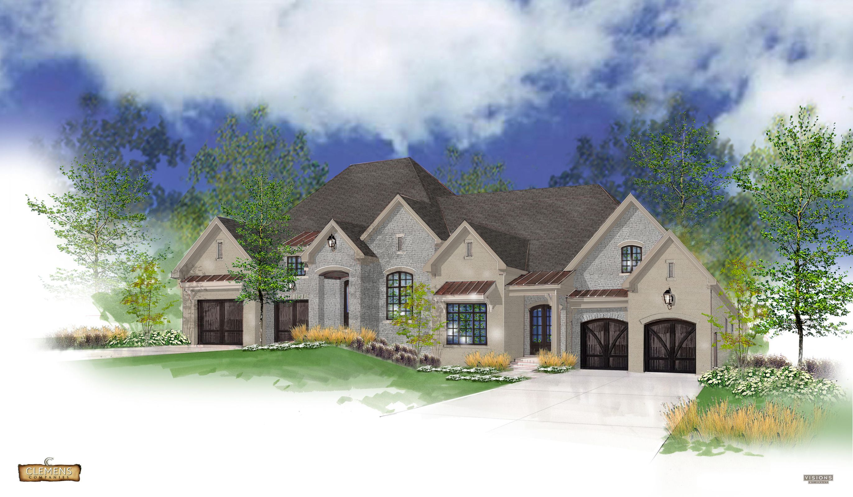 Enclave Ranch Rendering