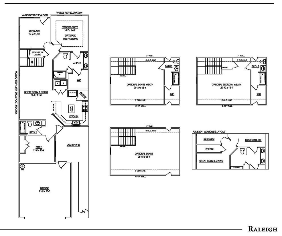 Raleigh Floorplan