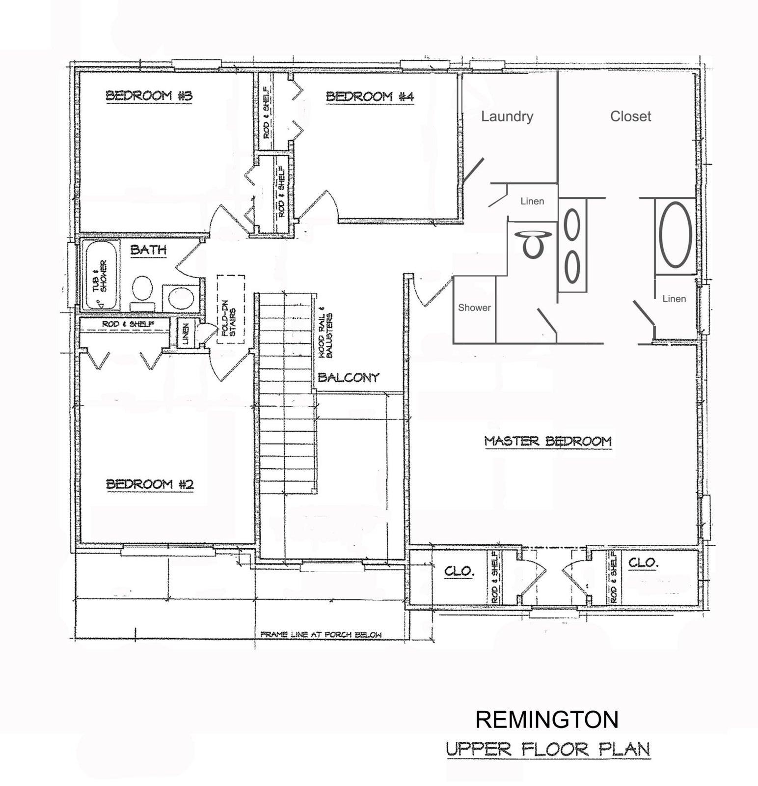 upper level Remington