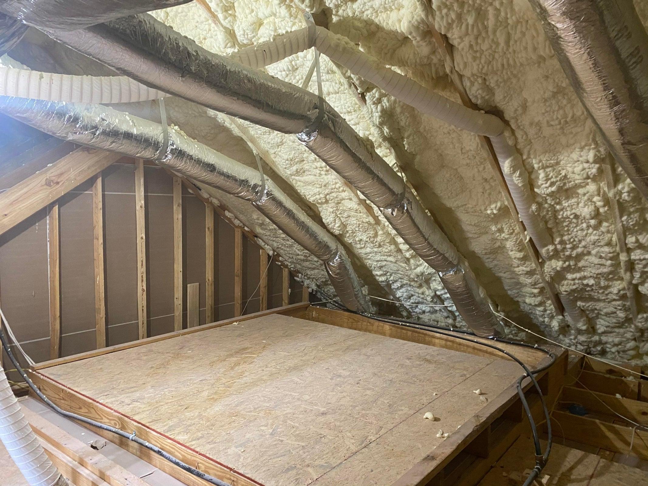 Open Cell blown insulation