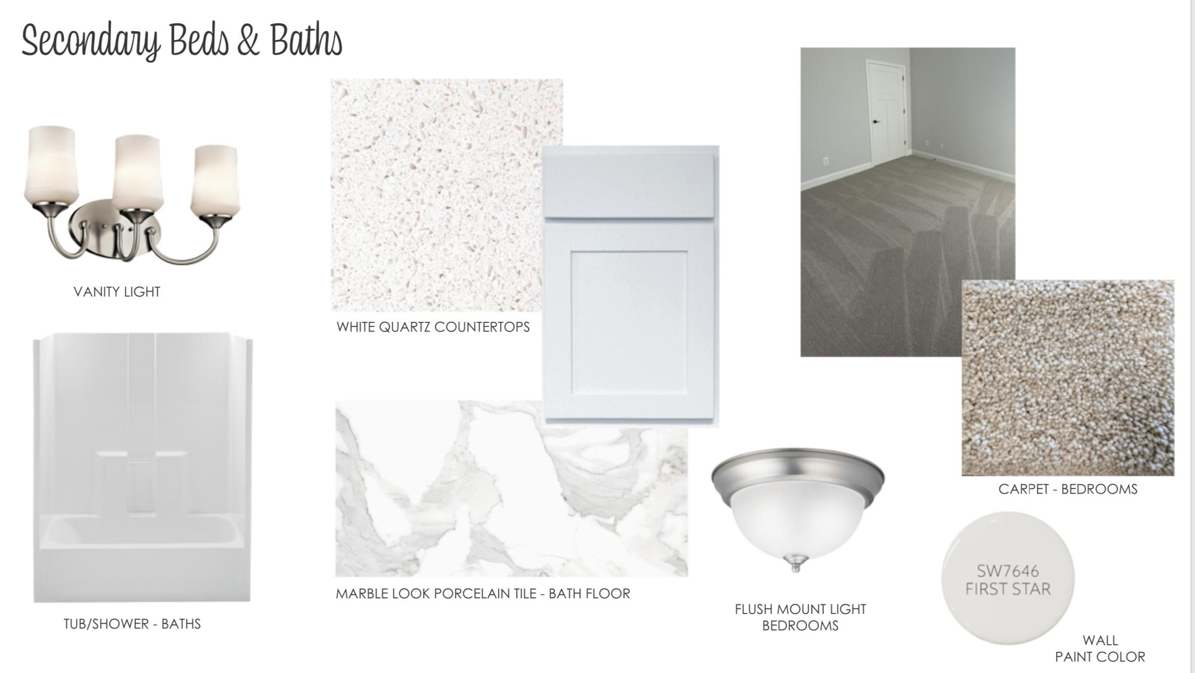 Secondary Beds:Baths SB1