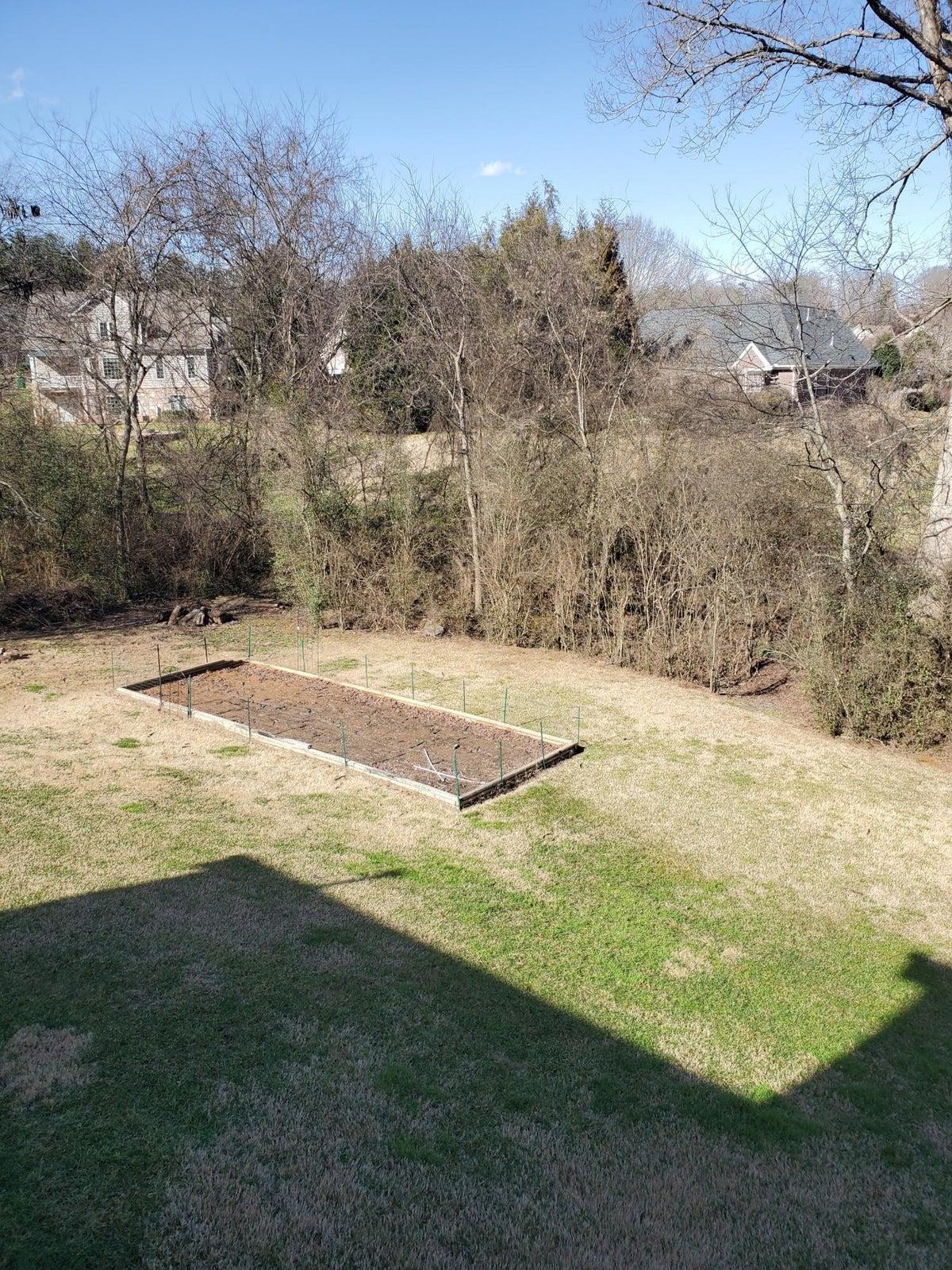 Huge Backyard Garden Area