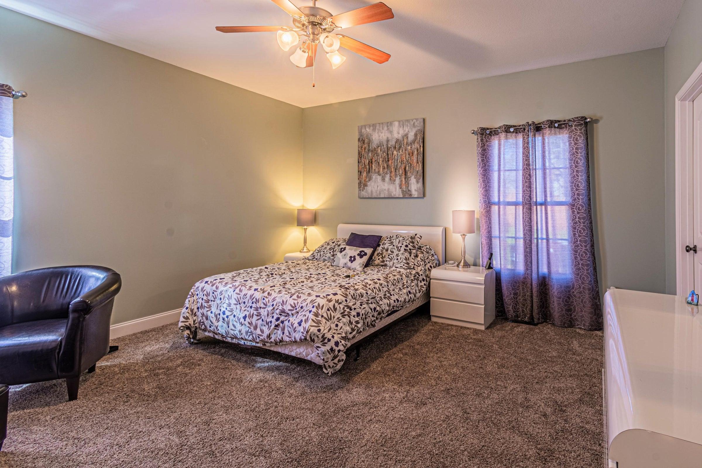 Main level guest bedroom