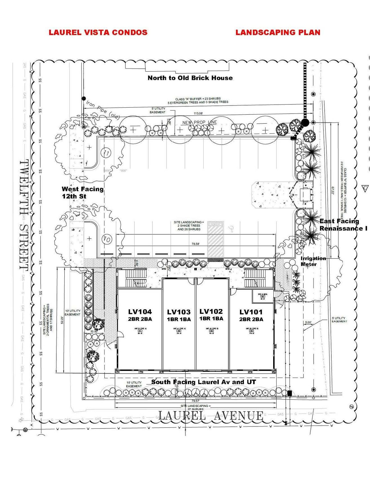 LV Landscaping Plan