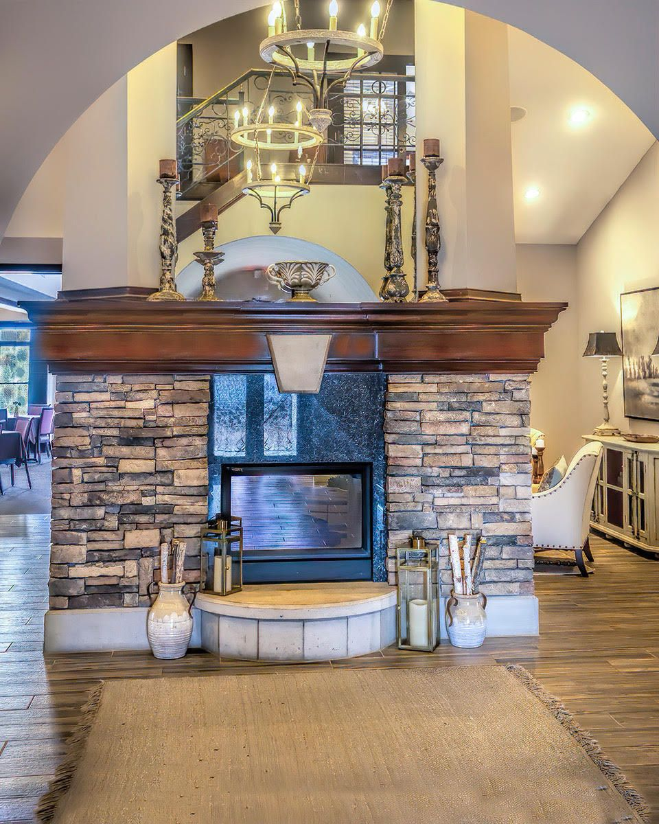RB Clubhouse Fireplace