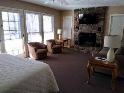 Cozy Comfort with Gas Fireplace