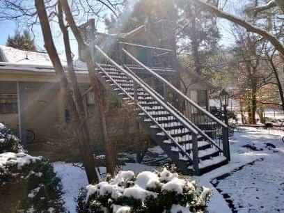Stairs Leading to Upper Level