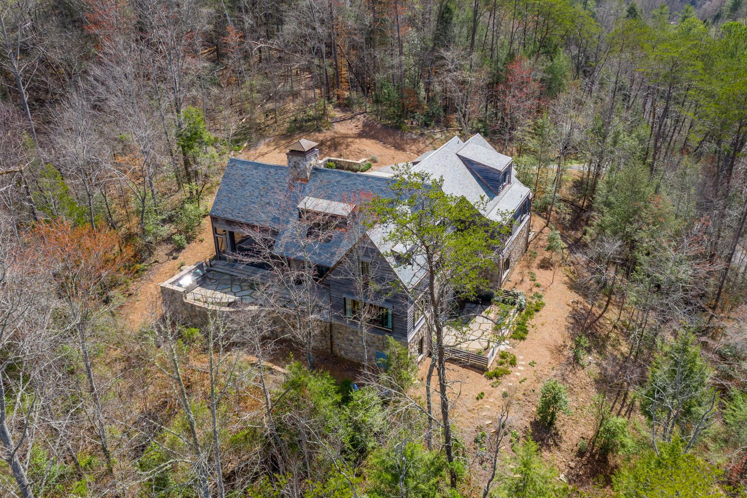 Aerial View- side of property