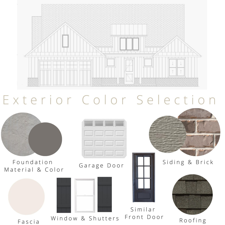 Exterior Color Selection