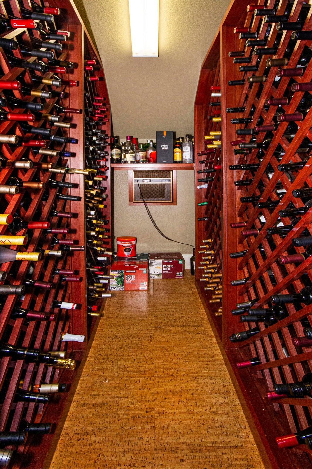 500 Bottle Refrigerated Wine Cellar!